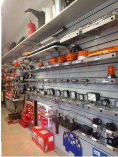Kaestner Auto Electric- Lighting Display Rack